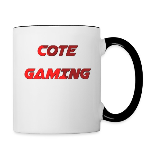 Cote Sweater Rode Letters - Contrasting Mug