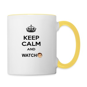 Keep Calm And Watch Anthonyos33 - Contrasting Mug
