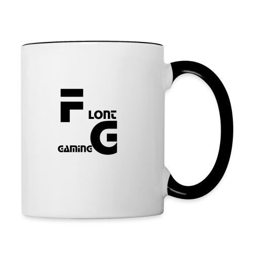 Flont Gaming merchandise - Mok tweekleurig