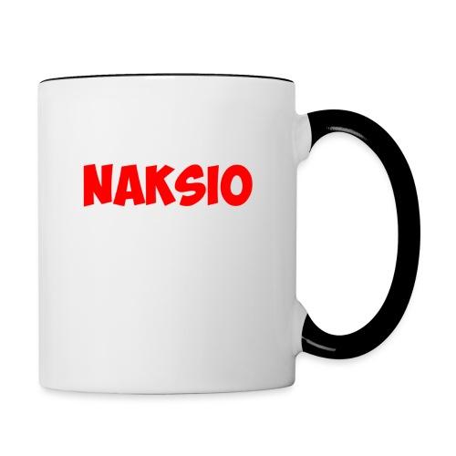 T-shirt NAKSIO - Mug contrasté