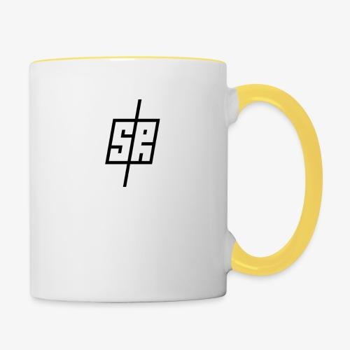 Black Logo (No Background) - Contrasting Mug