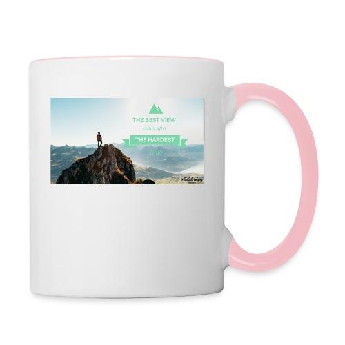 fbdjfgjf - Contrasting Mug