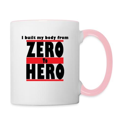 Zero To Hero - Kaksivärinen muki