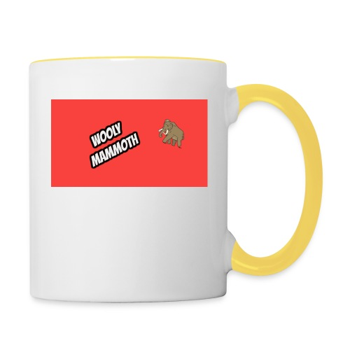 Wooly Mammoth accessories design - Contrasting Mug