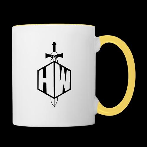 Black and White Logo - Contrasting Mug