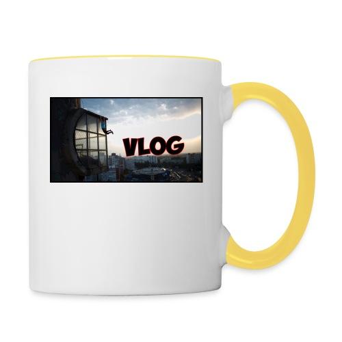 Vlog - Contrasting Mug