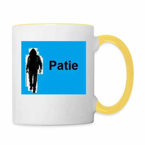 Patie - Tasse zweifarbig