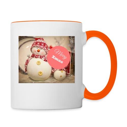 Merry Xmas - Tofarget kopp