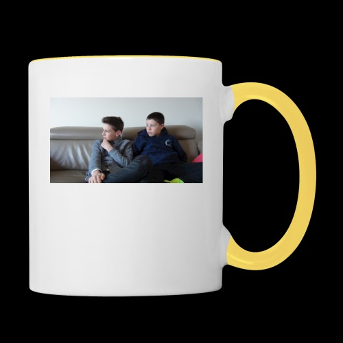 t-shirt de feyskes hd - Mug contrasté