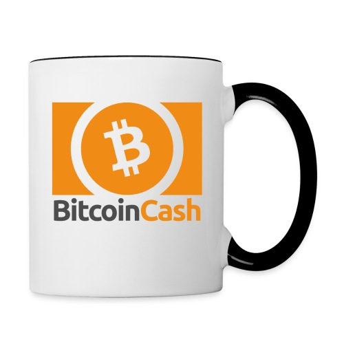 Bitcoin Cash - Kaksivärinen muki