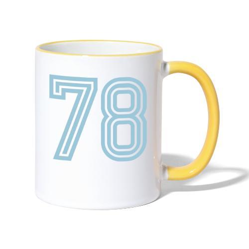Football 78 - Contrasting Mug