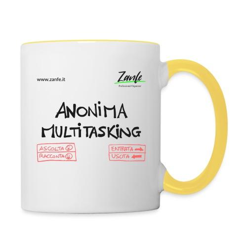 Anonima Multitasking - Tazze bicolor