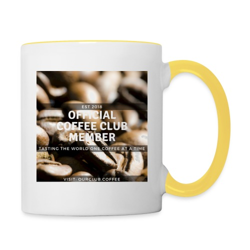Official Coffee Club Member - Contrasting Mug