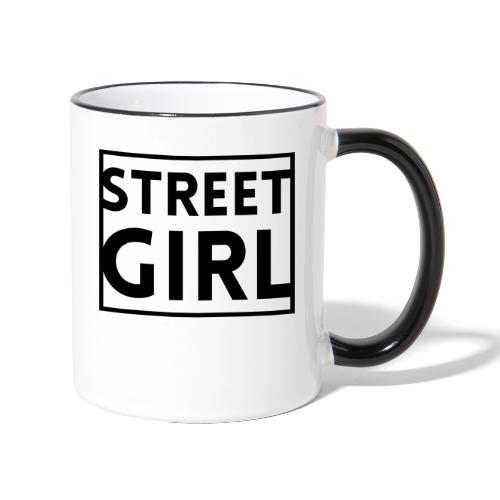 girl - Mug contrasté