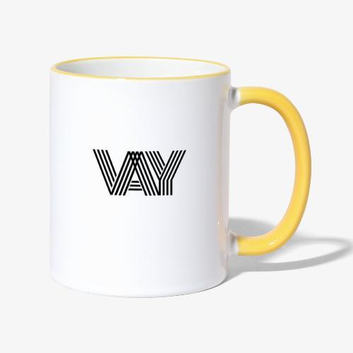 VAY - Tasse zweifarbig