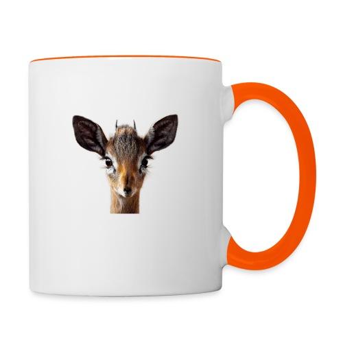 Antilope, Dik - Tasse zweifarbig