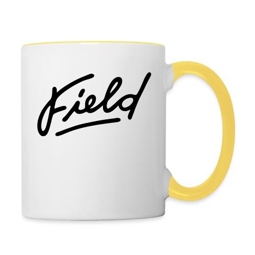 Field Interactive Logo - Tasse zweifarbig
