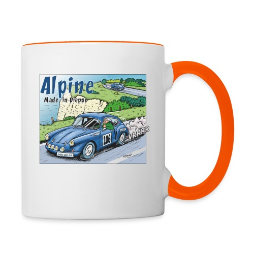 Polete en Alpine 106 - Mug contrasté