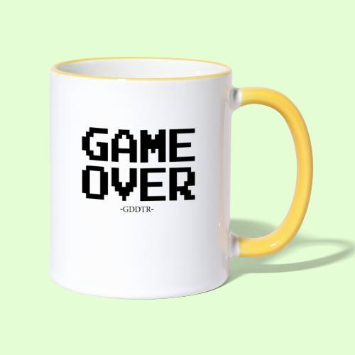 Game Over - Tasse zweifarbig