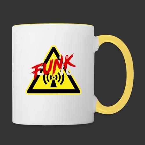LEYTHOUSE We funk you - Contrasting Mug