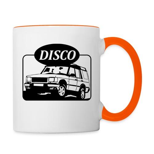 Landie Disco - Autonaut.com - Contrasting Mug