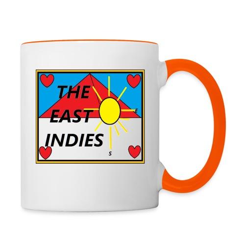 The East Indies - Mok tweekleurig
