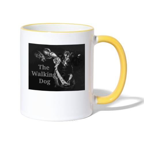 The Walking Dog - Tasse zweifarbig