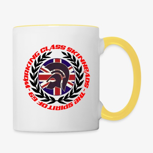 WORKING CLASS SKINHEAD JAMJACK LAUREL SPIRIT OF 69 - Contrasting Mug