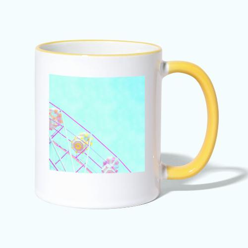 Fairy pastel watercolor - Contrasting Mug