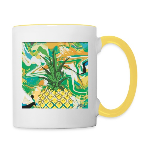 Pineapple Bag - Mug contrasté