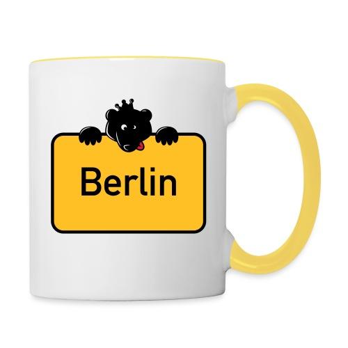 BERLIN - Tasse zweifarbig