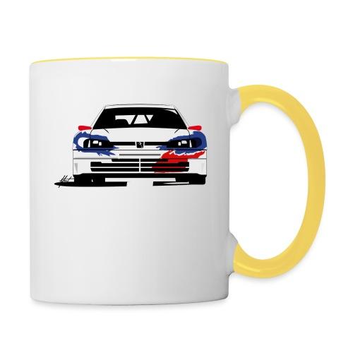 306 Maxi Rallye Tarmac Queen - Mug contrasté
