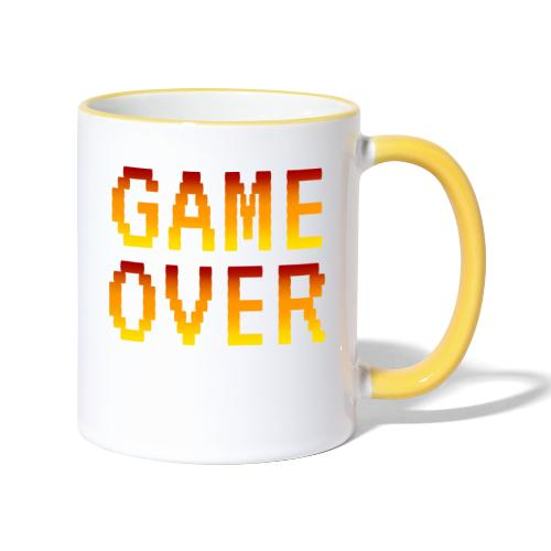 Game Over - Tazze bicolor