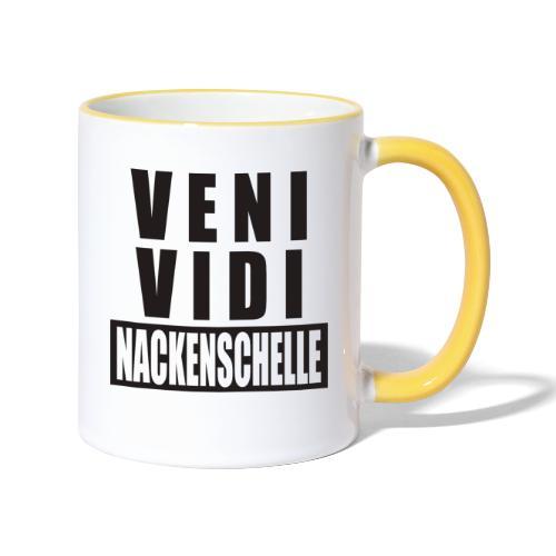 Veni Vidi - Tasse zweifarbig