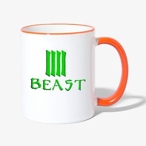 Beast Green - Contrasting Mug
