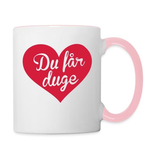 Ekte kjærlighet - Det norske plagg - Tofarget kopp