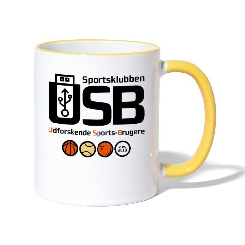 Sportsklubben USB - Tofarvet krus