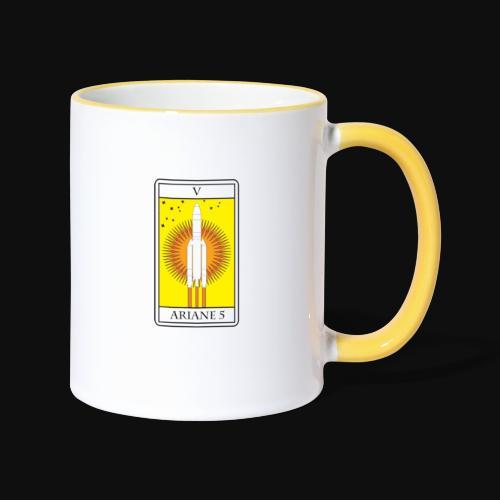 Ariane 5 By Itartwork - Contrasting Mug
