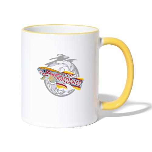 Space Fish Bluecontest - Mug contrasté