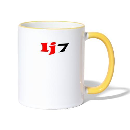 lj7 - Tvåfärgad mugg