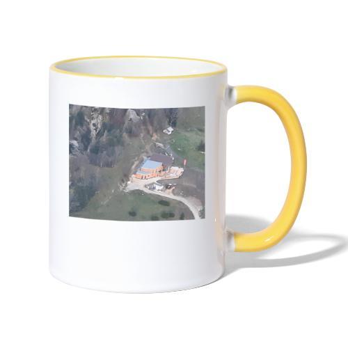 Schobersteinhuette - Tasse zweifarbig