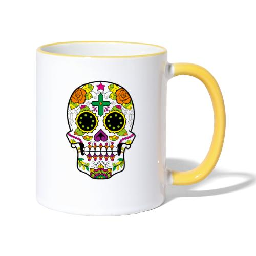 skull4 - Tazze bicolor