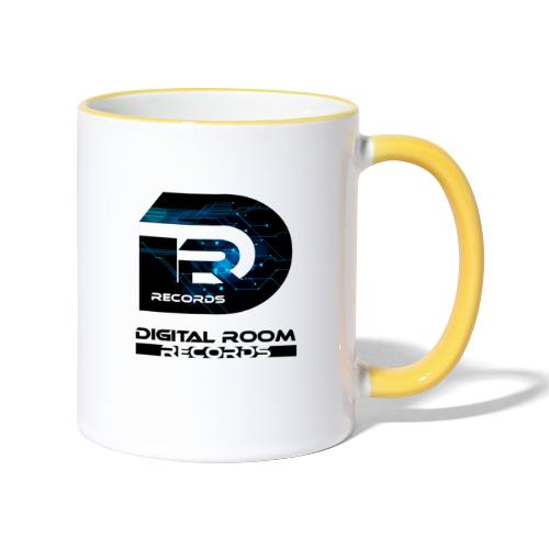 Digital Room Records Official Logo effect - Contrasting Mug