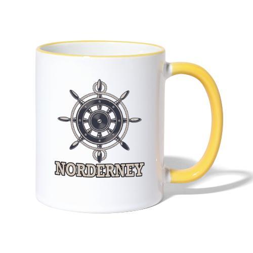 Norderney - Tasse zweifarbig