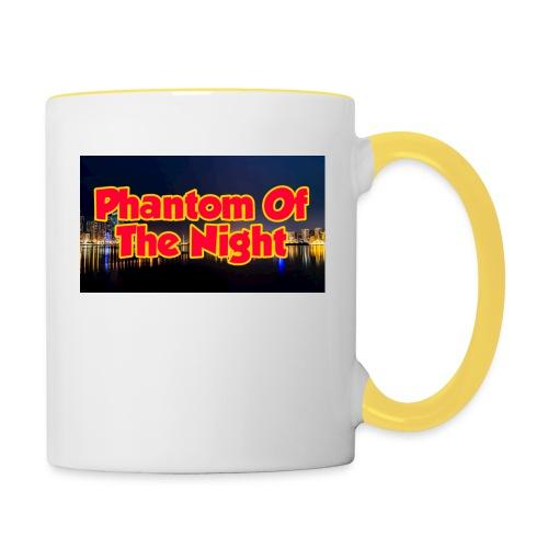 Phantom Of The Night Official Wear - Contrasting Mug