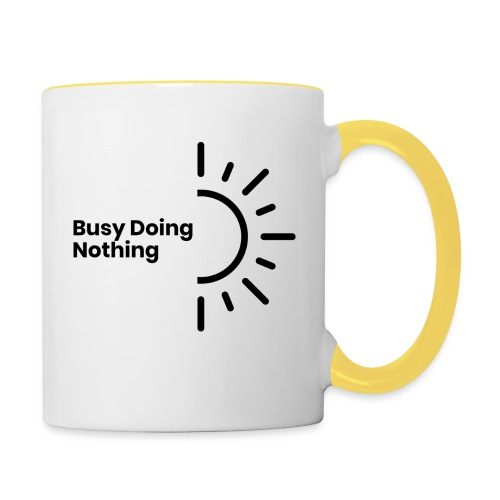 Busy Doing Nothing - Contrasting Mug