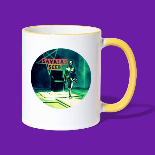 Robot Love - Contrasting Mug