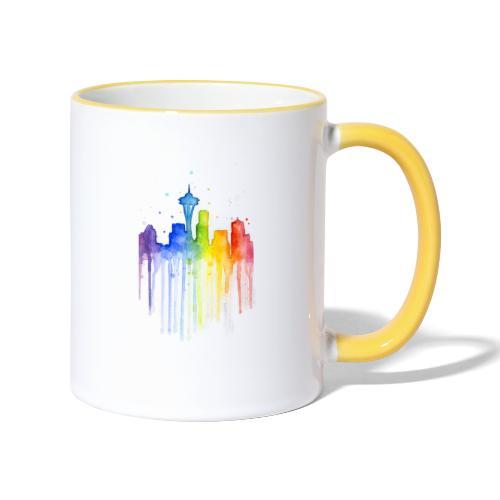 Ville artistique - Mug contrasté