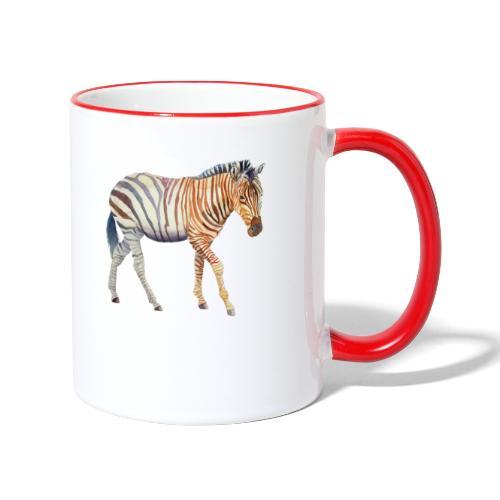Zebra grants - Tofarvet krus