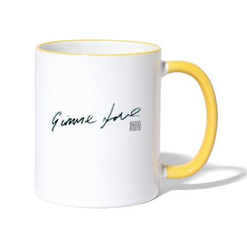 GIMME LOVE range - Contrasting Mug